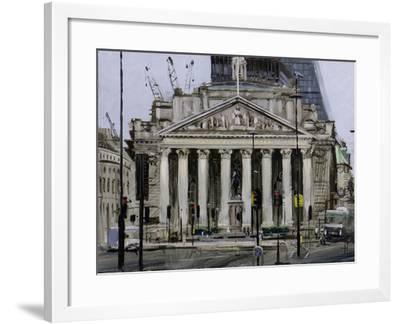 The Royal Exchange, May-Tom Hughes-Framed Giclee Print