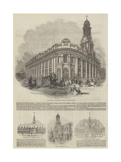 The Royal Exchange--Giclee Print