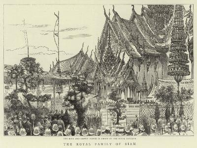 The Royal Family of Siam--Giclee Print