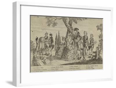 The Royal Family--Framed Giclee Print