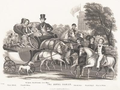 The Royal Family--Giclee Print