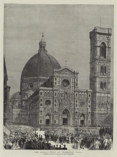 The Royal Fetes at Florence, Italy--Giclee Print