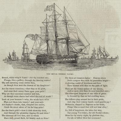 The Royal George Yacht--Giclee Print