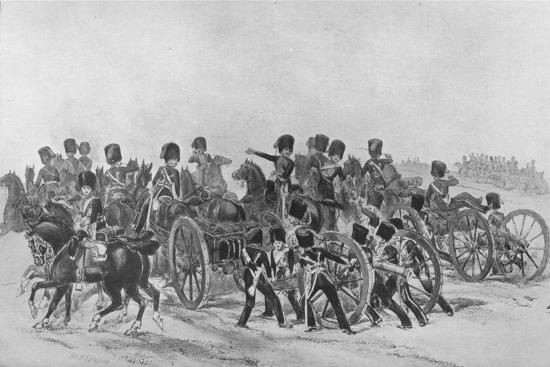 'The Royal Horse Artillery', 1846 (1909)-Unknown-Giclee Print