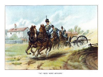 The Royal Horse Artillery, C1890-Geoffrey Douglas Giles-Giclee Print
