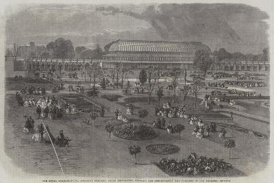 The Royal Horticultural Society's Gardens--Giclee Print