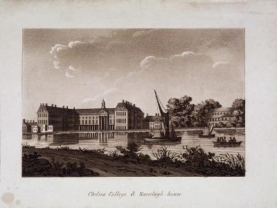 The Royal Hospital and Ranelagh House, Chelsea, London, C1800--Giclee Print