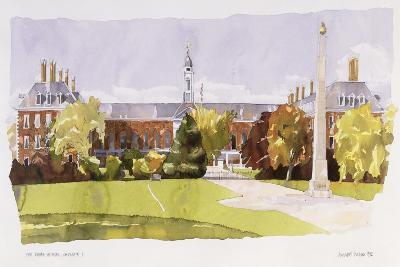 The Royal Hospital, Chelsea, 1992-Annabel Wilson-Giclee Print