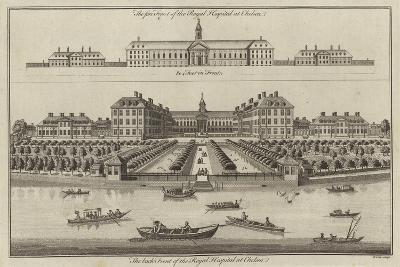 The Royal Hospital, Chelsea--Giclee Print