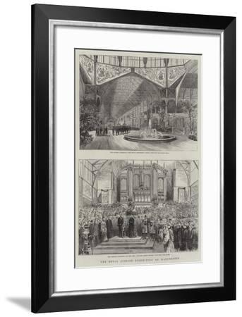The Royal Jubilee Exhibition at Manchester--Framed Giclee Print
