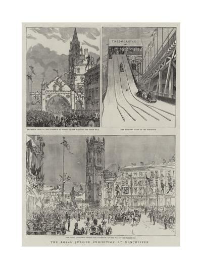 The Royal Jubilee Exhibition at Manchester--Giclee Print