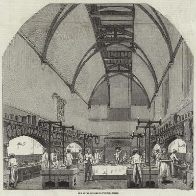 The Royal Kitchen in Windsor Castle--Giclee Print