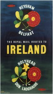The Royal Mail Routes to Ireland, BR, c.1957
