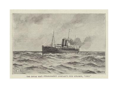 The Royal Mail Steam-Packet Company's New Steamer, Nile--Giclee Print