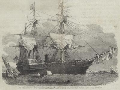 The Royal Mail Steam-Packet Company's Ship Amazon-Edwin Weedon-Giclee Print