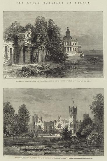 The Royal Marriage at Berlin-Sir John Gilbert-Giclee Print