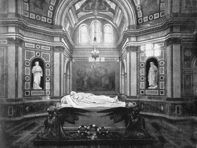 The Royal Mausoleum, Frogmore, 1901-HN King-Giclee Print