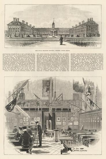 The Royal Military Hospital in Chelsea-William Douglas Almond-Giclee Print