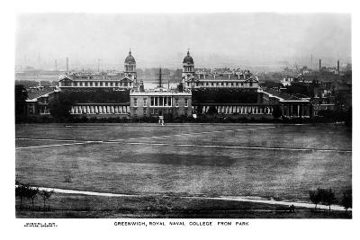 The Royal Naval College at Greenwich, London, Early 20th Century- Manning & Son-Giclee Print