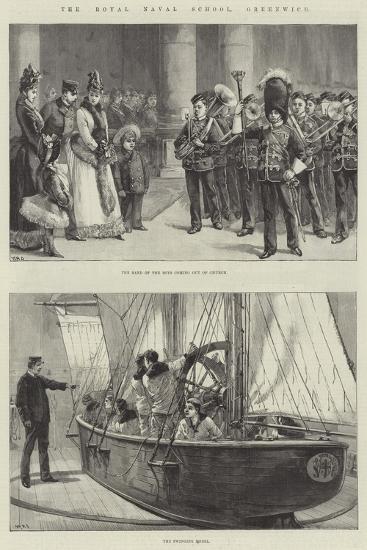 The Royal Naval School, Greenwich-William Heysham Overend-Giclee Print