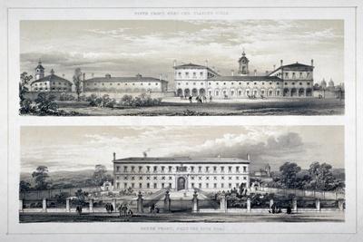 The Royal Naval School, Lewisham High Road, New Cross, Lewisham, London, C1870--Giclee Print