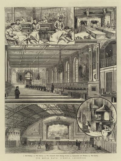 The Royal Naval Schools, Greenwich--Giclee Print