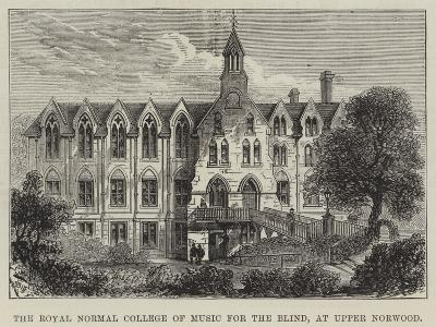 The Royal Normal College of Music for the Blind, at Upper Norwood--Giclee Print
