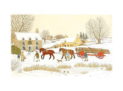 The Royal Oak in winter-Vincent Haddelsey-Limited Edition