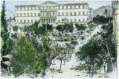 The Royal Palace, Athens, Greece, C1890-Rhemaidez Freres Rhemaidez Freres-Giclee Print