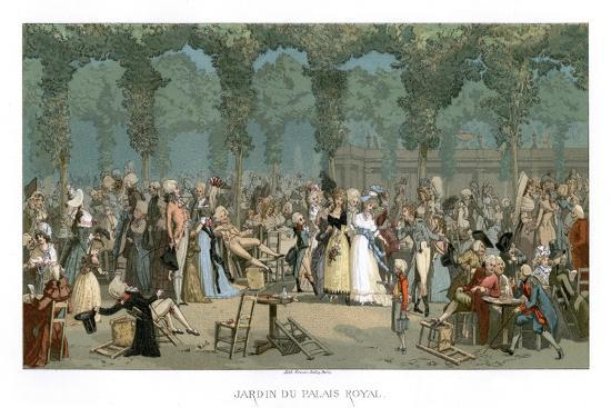 The Royal Palace Garden- Urrabieta-Giclee Print