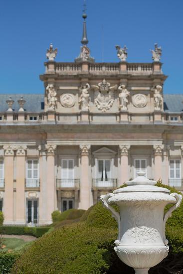 The Royal Palace of La Granja De San Ildefonso Near Segovia, Castilla Y Leon, Spain, Europe-Martin Child-Photographic Print