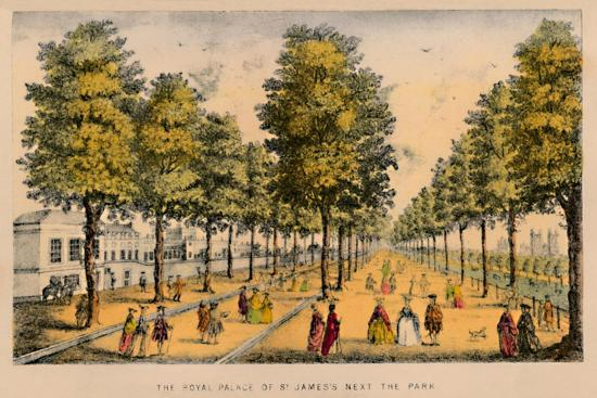 'The Royal Palace of St. James's Next The Park', c1870-Unknown-Giclee Print