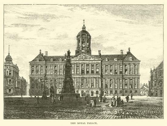 The Royal Palace--Giclee Print