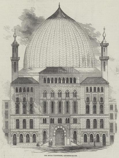 The Royal Panopticon of Science and Art, Leicester-Square--Giclee Print