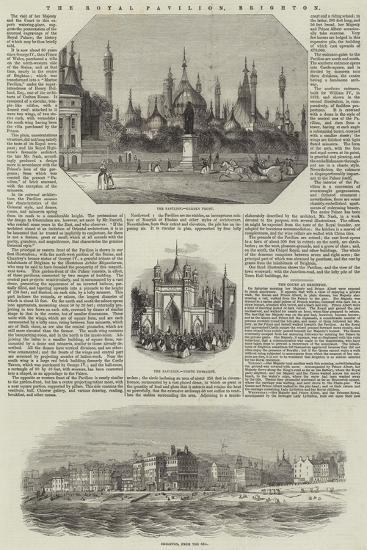 The Royal Pavilion, Brighton--Giclee Print