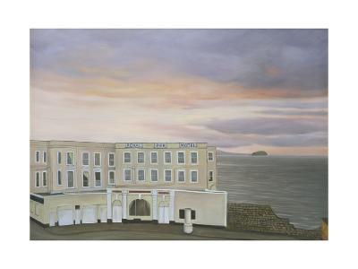 The Royal Pier Hotel, Winters Evening, 2006-Peter Breeden-Giclee Print