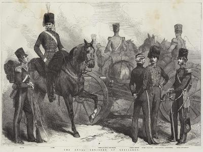 The Royal Regiment of Artillery--Giclee Print