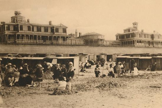 'The Royal Residence and the Esplanade', c1928-Unknown-Photographic Print