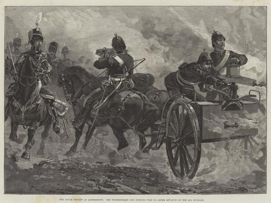 The Royal Review at Aldershott-William Heysham Overend-Giclee Print