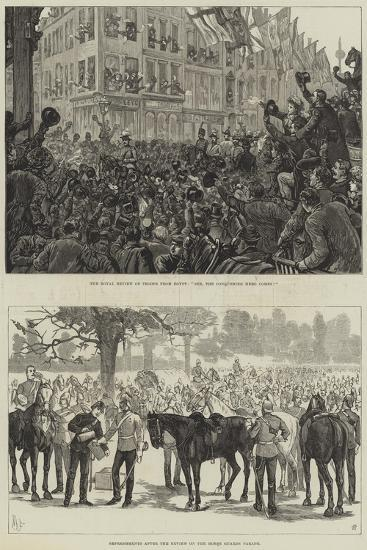 The Royal Review of Troops from Egypt--Giclee Print