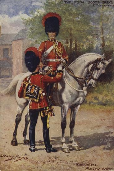 The Royal Scots Greys-Henry Payne-Giclee Print