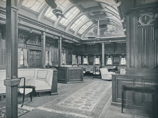 'The Royal Smoking Room', 1911-Unknown-Photographic Print