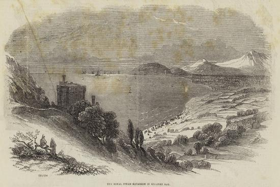 The Royal Steam Squadron in Killiney Bay--Giclee Print
