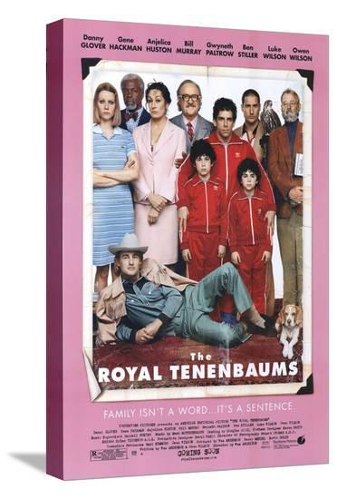 The Royal Tenenbaums--Stretched Canvas Print