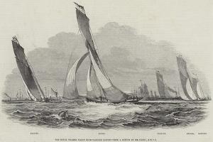 The Royal Thames Yacht Club, Sailing Match