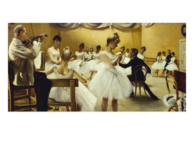 The Royal Theatre's Ballet School-Paul Fischer-Giclee Print