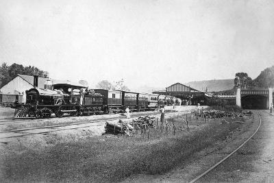 The Royal Train Leaving Kandy Station, Sri Lanka, C1910s--Giclee Print