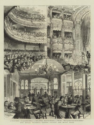 The Royal Victoria Coffee Palace and Music Hall-Godefroy Durand-Giclee Print