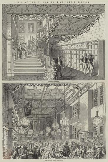 The Royal Visit to Hatfield House--Giclee Print
