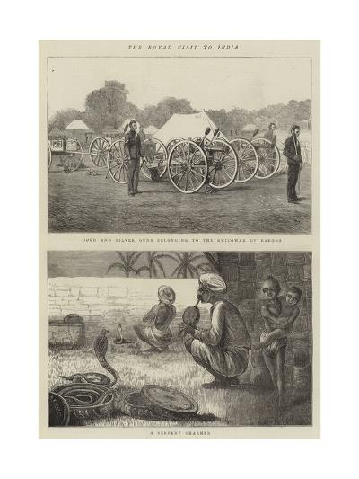The Royal Visit to India-Alfred Chantrey Corbould-Giclee Print